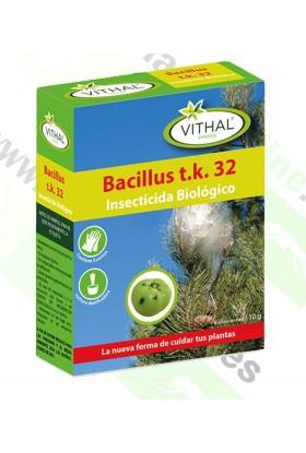 BACILLUS T.K 32 10gr INSECTICIDA BIOLÓGICO VTH