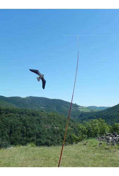 Ahuyentador de aves mástil cometa Espantapajaros