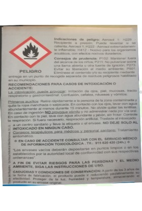 AEROSOL DESINFECTANTE 100ml BIO