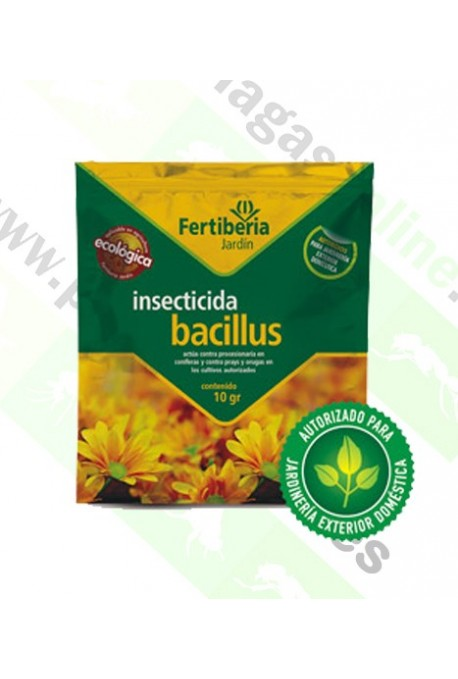 Insecticida Bacillus Thuringiensis 10gr FT
