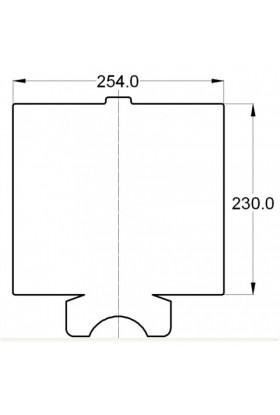 6 uds Placa adhesiva flyshield