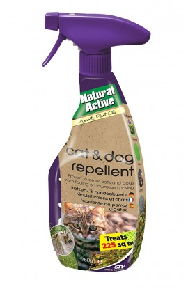 Spray Repelente de Gatos y Perros 750ml STV