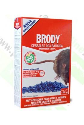 Raticida Azul Brodifacoum en Grano 150gr