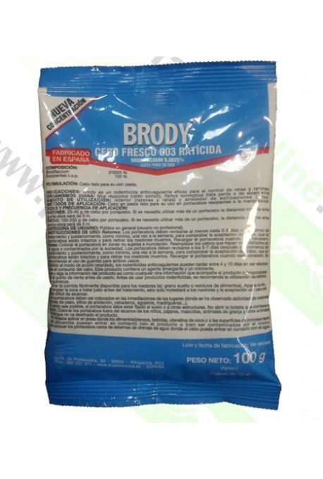 Matarratas Brodyfacoum en Pasta 100gr