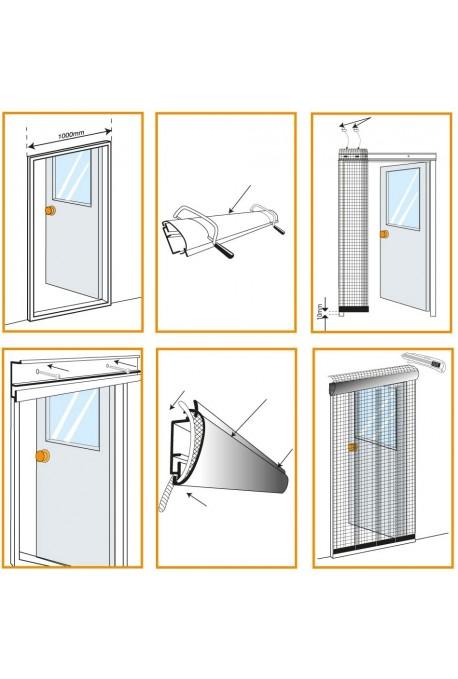 Cortina Anti Insectos para Puertas STV