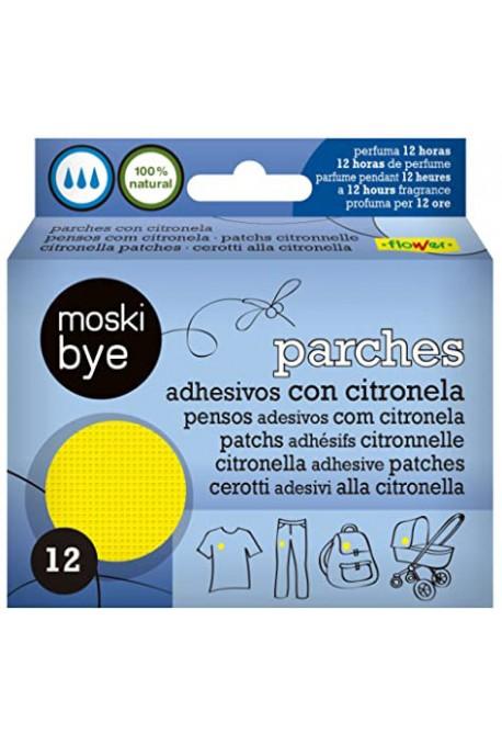 Parches Citronela Antimosquitos 12 uds