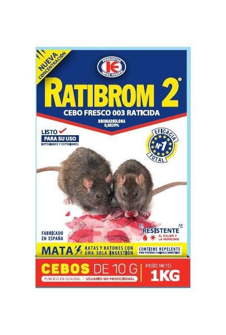 Rodenticida Anticoagulante en Pasta 1KG