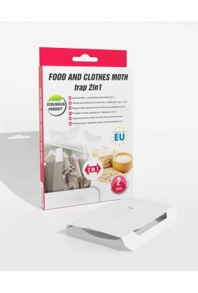 Trampa Polilla de Ropa y Alimentos 2en1