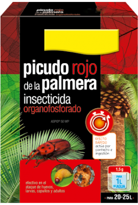 Insecticida para Picudo Rojo 35gr