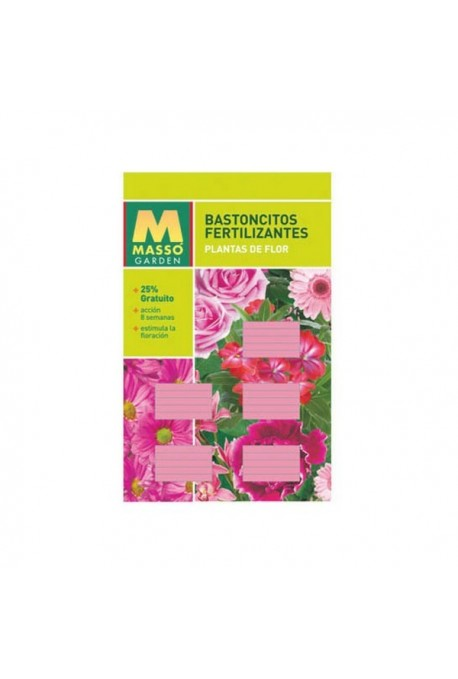 Bastoncillos Fertilizantes Plantas de Flor