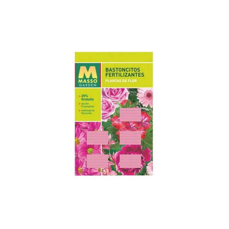Bastoncillos fertilizantes plantas de flor tienda for Abono para las plantas de jardin