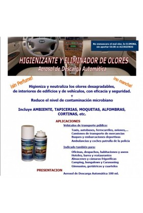 Anti Olores 100ml Automoviles PB
